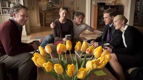 Kate Winslet, Christoph Waltz, Jodie Foster, John C. Reilly, Roman Polanski