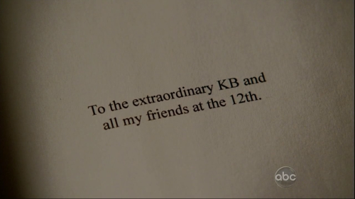 Castle dedication extraordinary KB
