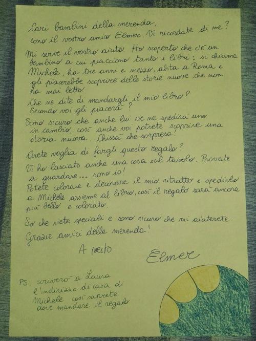 Lettera Elmer